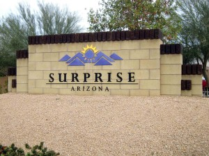 Welcome AZ Surprise 2009 WBlog