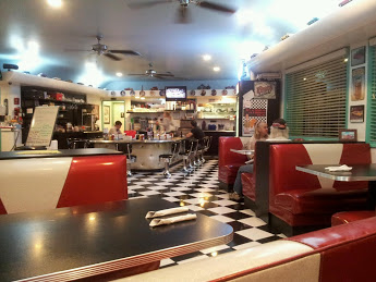 Bobby D's Diner, located in bustling Parker, Arizona.