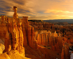 Another view of Bryce Canyon.