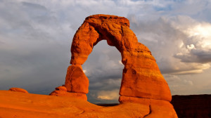 Arches National Park in Eastern Utah.