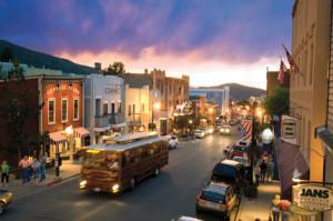 Main Street. Park City, Utah.