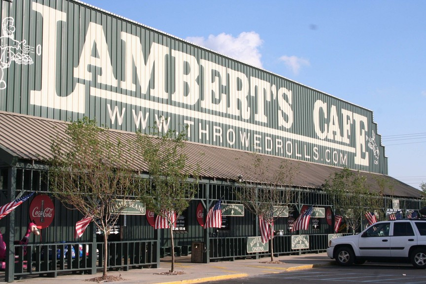 Lambert Home lambert s cafe home of throwed rolls our great adventure