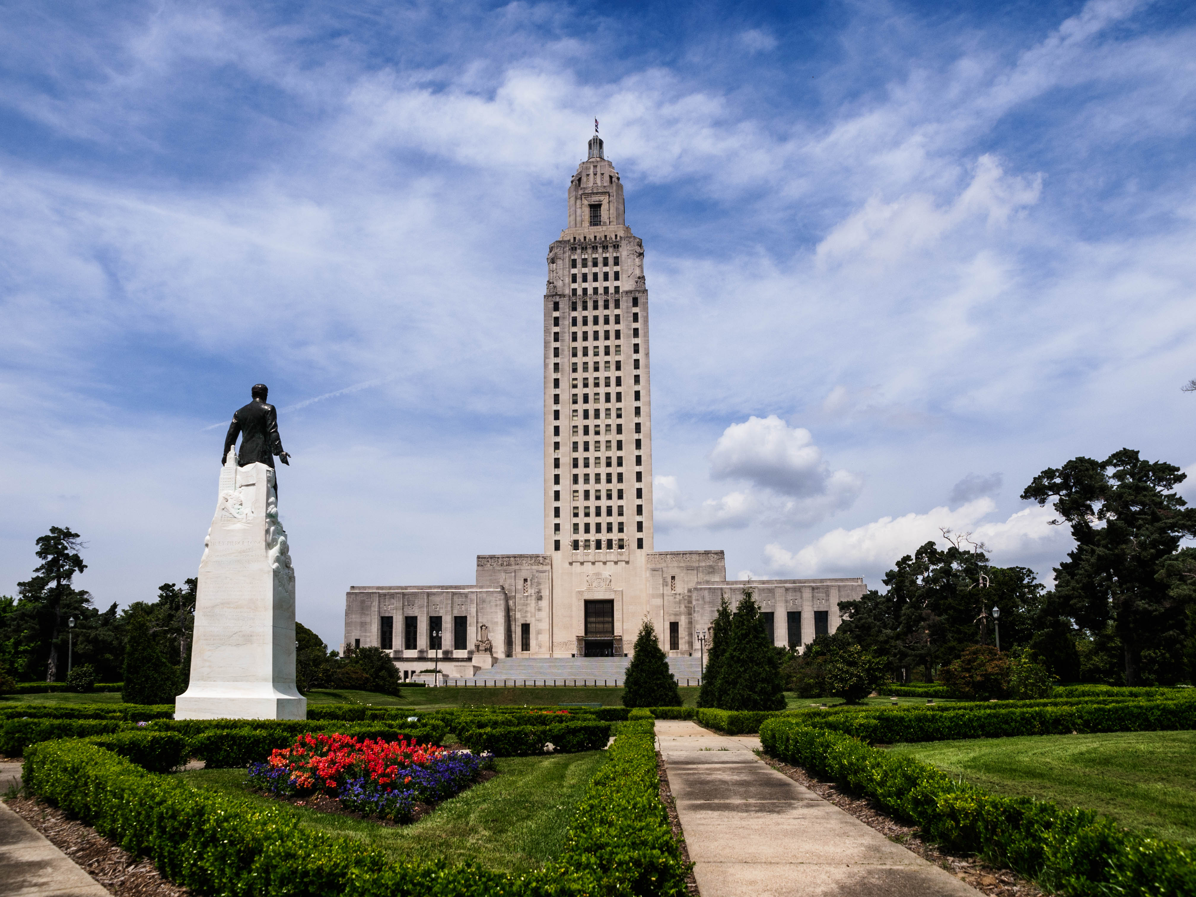 Old State Capitol Building Baton Rouge Grounds